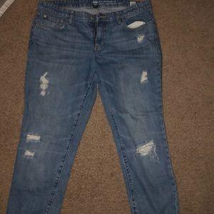 Worn once women's gap Boyfriend fit jeans